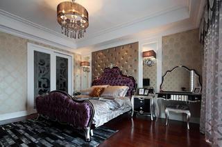 160平新古典装修卧室效果图