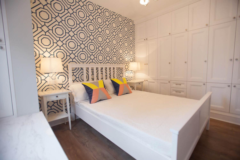 小户型北欧二居装修卧室设计图