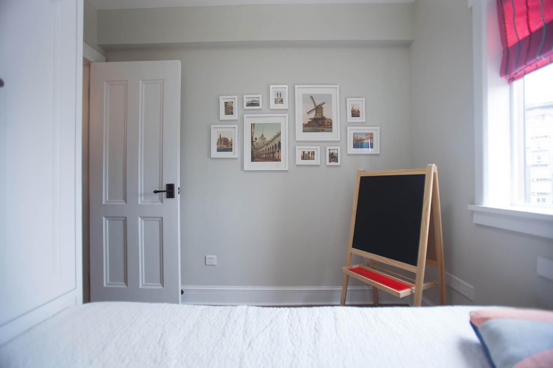 小户型北欧二居装修照片墙