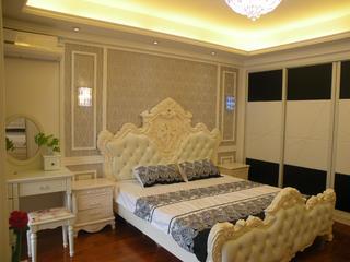 150平欧式风格装修卧室设计图