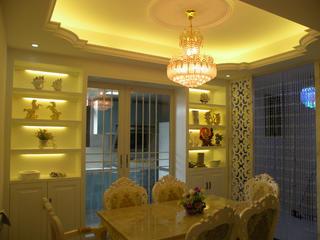 150平欧式风格装修餐厅吊顶