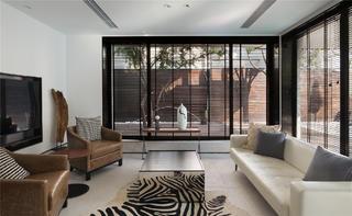 简约中式别墅装修沙发图片