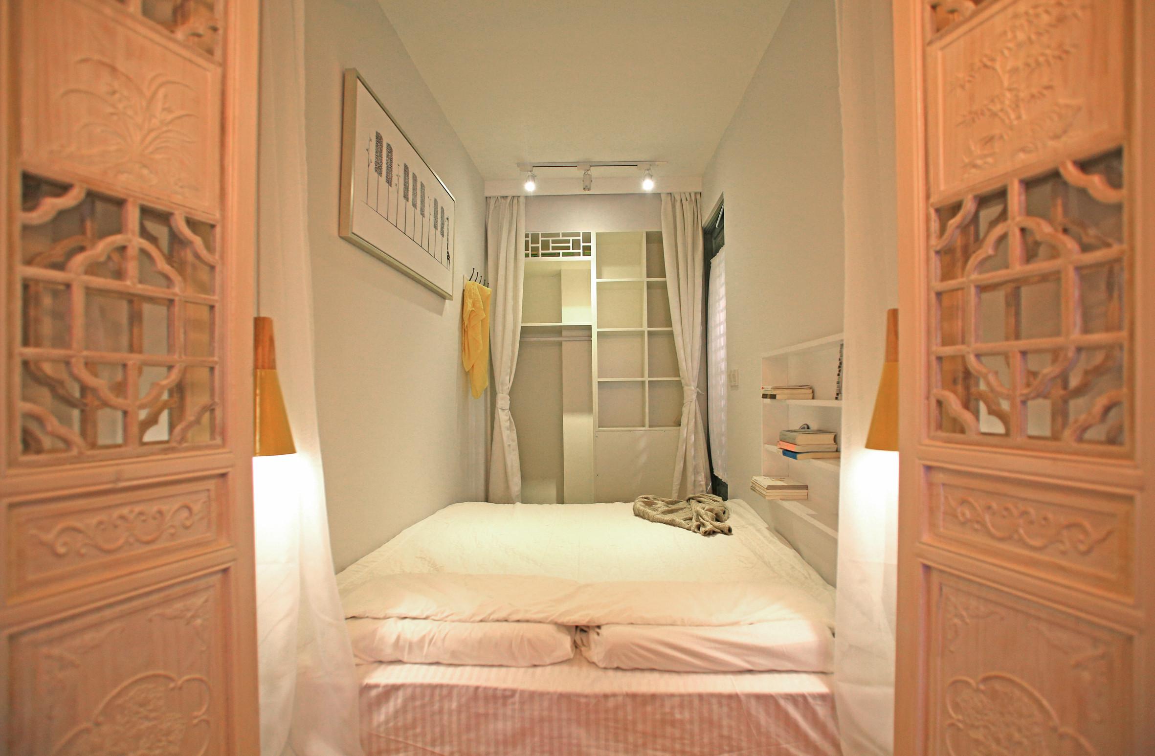 小户型单身公寓装修卧室设计图