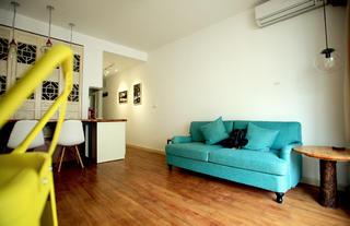 小户型单身公寓装修沙发图片