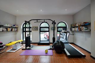 混搭别墅装修健身房设计图