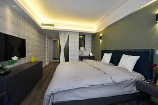 现代简约复式装修卧室设计图
