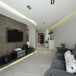 60平一居室装修设计 简约通畅