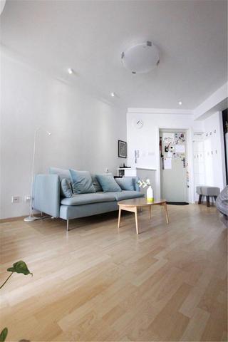简约风格二居装修地板图片