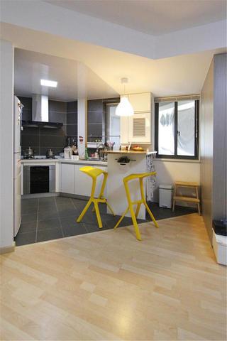 简约风格二居装修厨房设计图