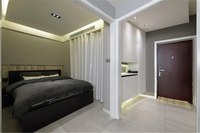 60平一居室装修卧室设计图