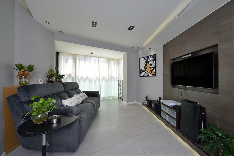 60平一居室装修沙发图片