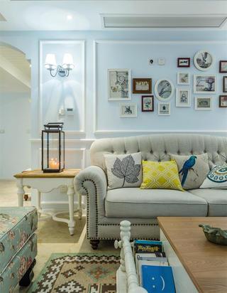 120平美式之家沙发一隅