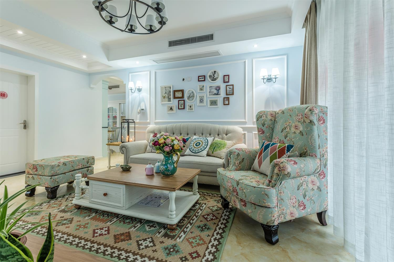 120平美式之家沙发椅图片