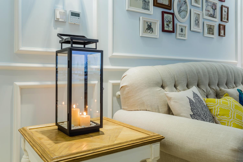120平美式之家蜡烛灯具图片