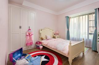 120平美式风格装修儿童房设计图