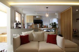 日式风格二居沙发图片