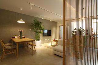 日式风格二居电视背景墙图片