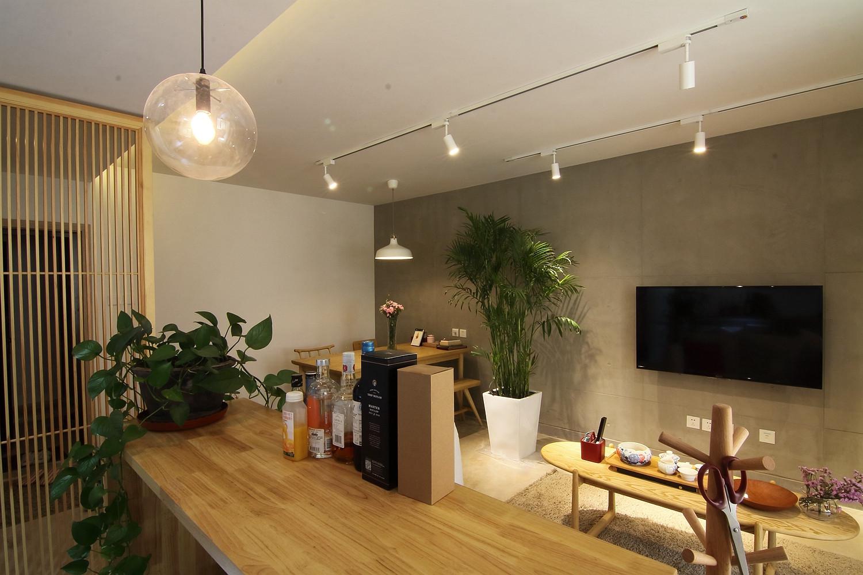 日式风格二居吧台图片