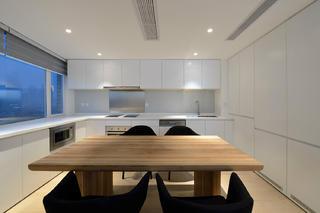 极简复式装修厨房设计图