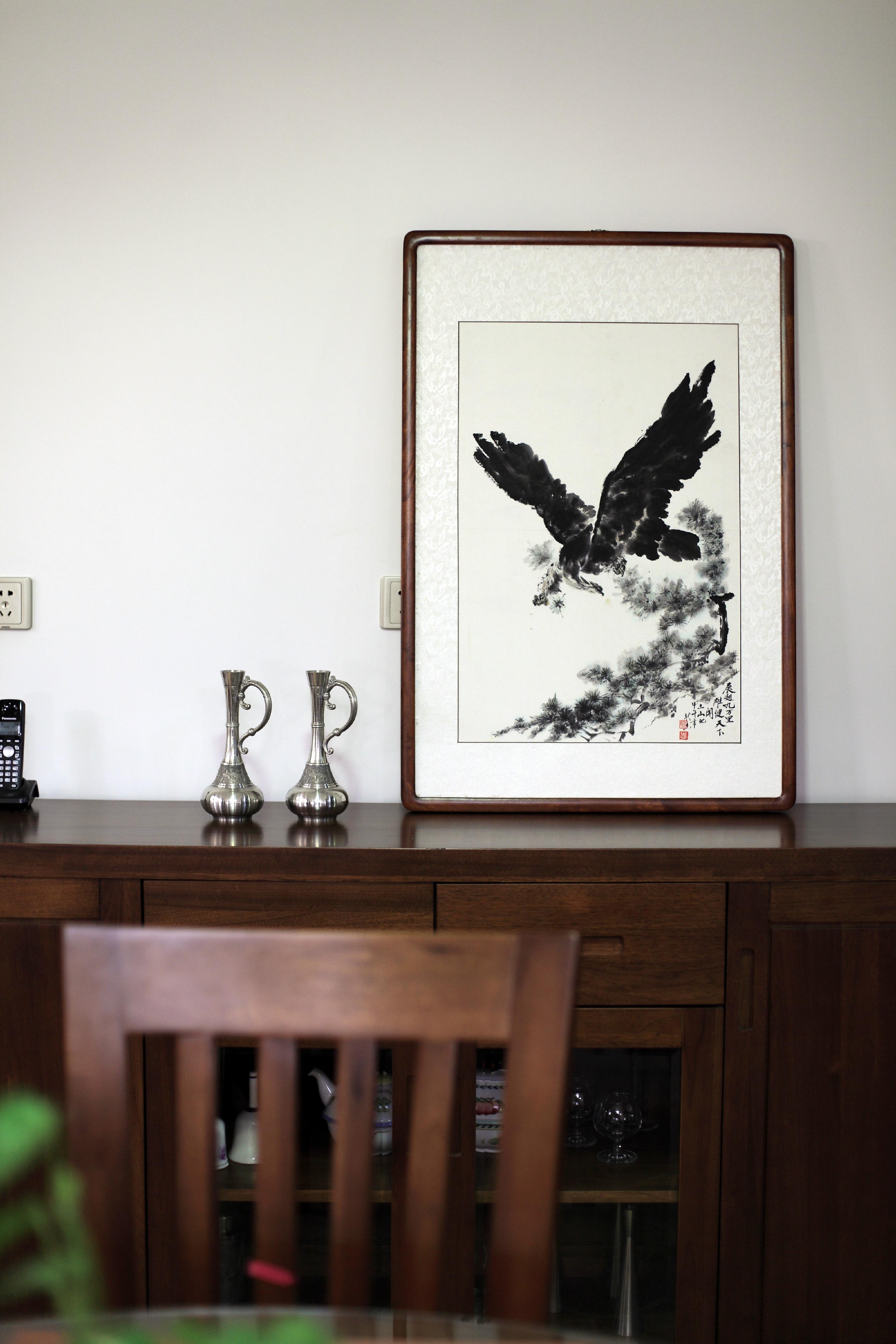 复式美式风装修餐边柜装饰摆件