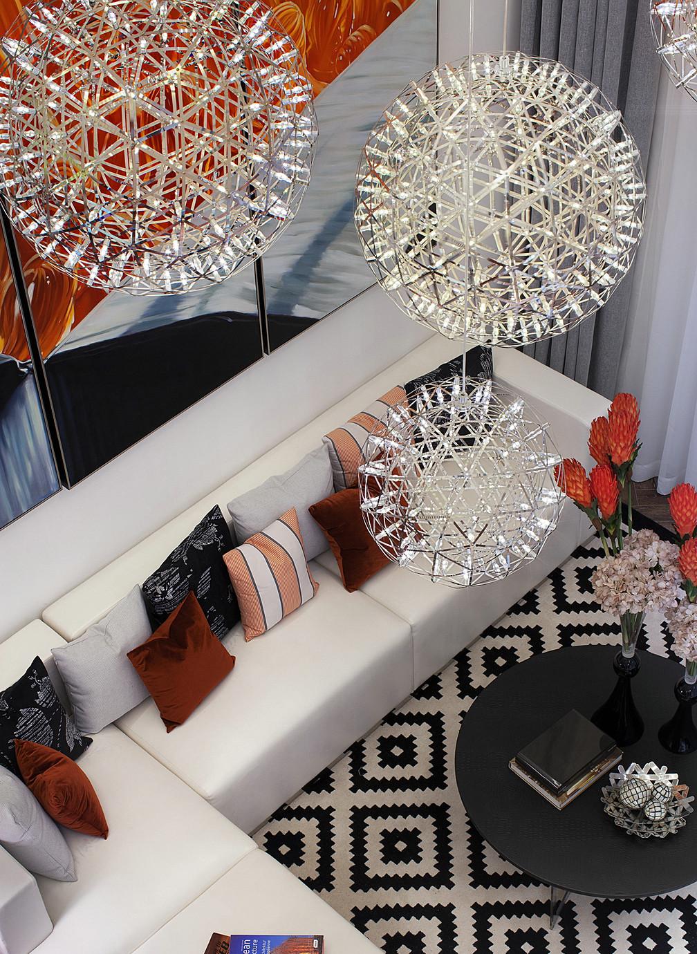 现代简约唯美别墅装修沙发图片