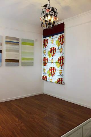 二居室簡約家窗簾圖片