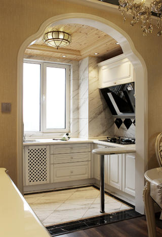 欧式三居装修橱柜图片