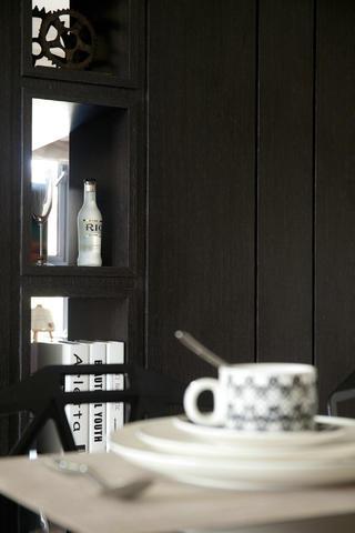 现代简约风三居室装修置物柜图片