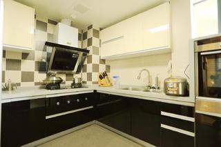 简约风二居装修厨房设计图