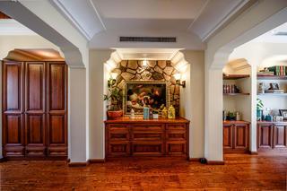 地中海风格别墅装修玄关设计