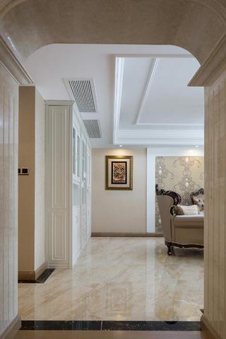 120平简欧风格装修客厅过道