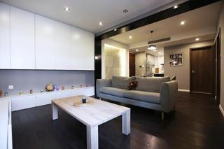 北欧风格二居储物柜设计