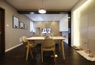 北欧风格二居餐厅设计图