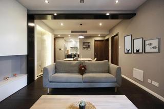 北欧风格二居沙发图片