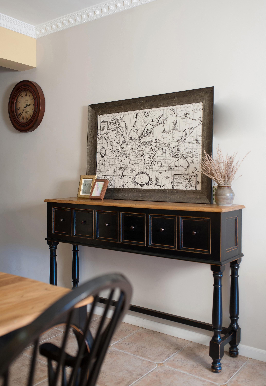 115平美式之家餐边柜图片
