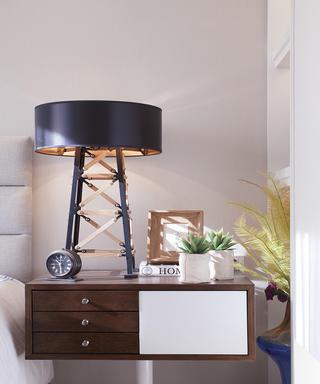 现代简约风格三居床头灯设计