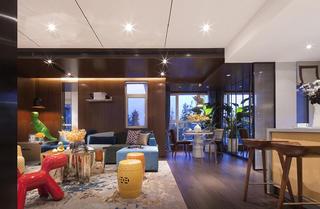大户型现代风格家沙发背景墙图片