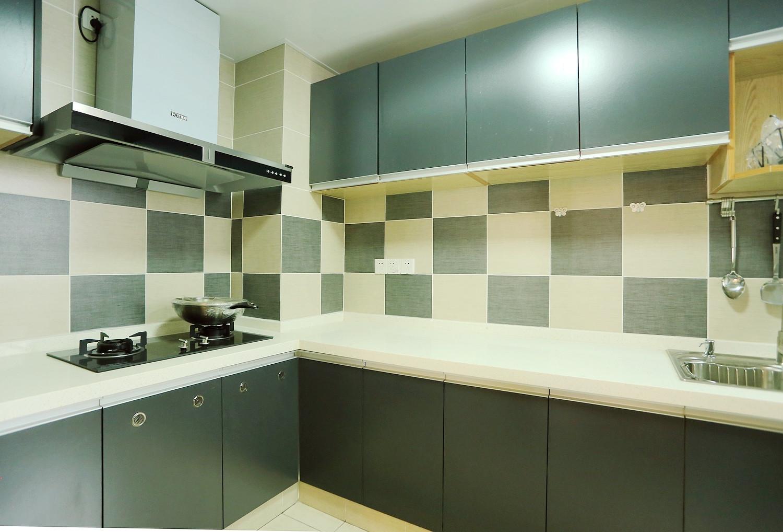 现代公寓装修厨房设计图