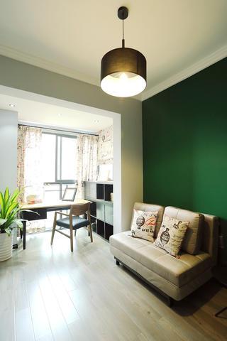 现代公寓装修书房布局图