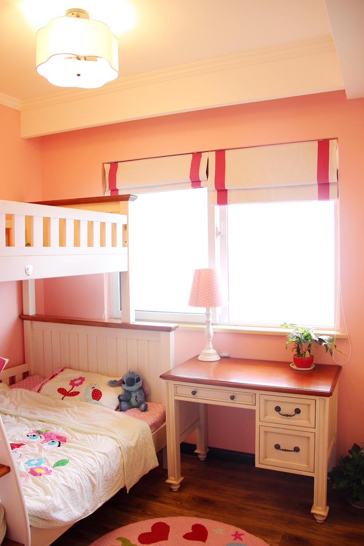 85平美式小跃层装修儿童房设计图