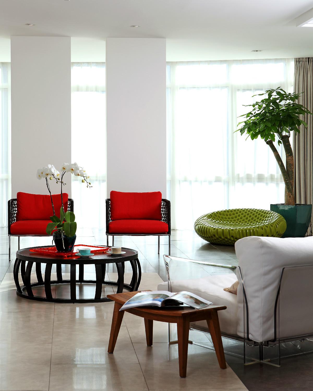 大户型现代简约装修沙发椅图片