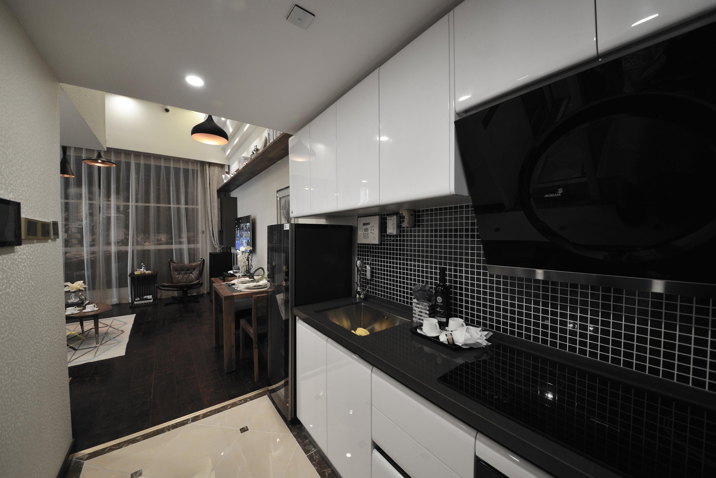 小户型公寓装修厨房设计图