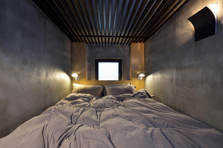 60平Loft工业风设计床品图片