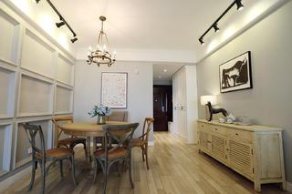120平现代美式装修餐厅搭配图