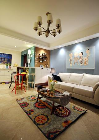 135平混搭风之家沙发图片