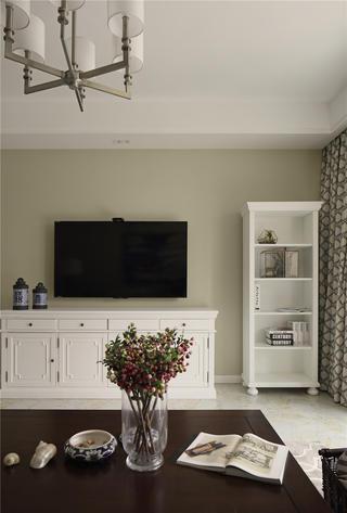 美式风格三居电视柜图片