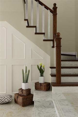 美式风格三居楼梯图片