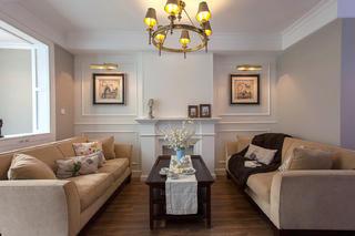 轻美复式装修客厅设计图