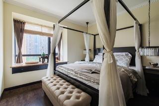 105平现代英伦风格家卧室设计图