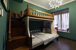 105平现代英伦风格家儿童房设计图